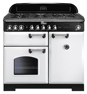 Kuchnia Gazowa Falcon Classic Deluxe Cdl 100 Df Biały