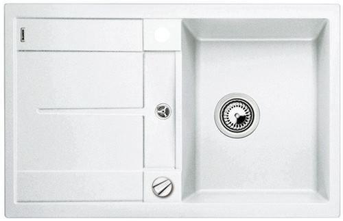 zlew blanco metra 45s 513028 silgranit bia y puradur ii z. Black Bedroom Furniture Sets. Home Design Ideas